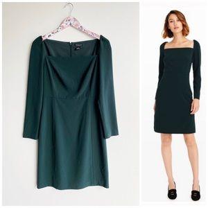 CLUB MONACO Juniper Green Resaria Square Dress! 2